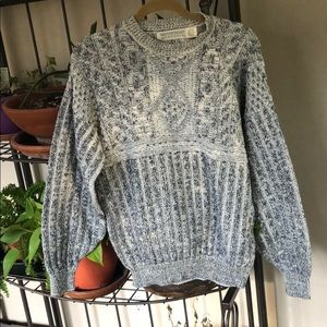 Vintage grandpa sweater